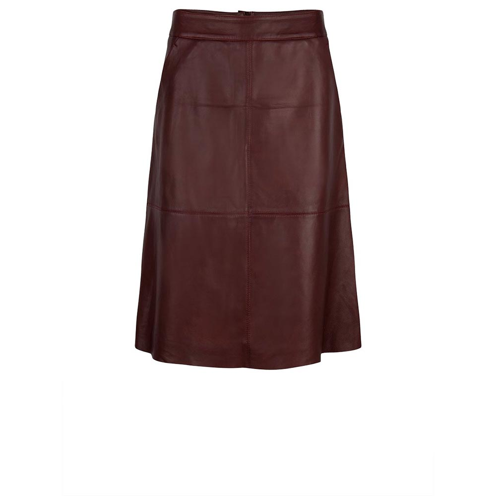 Pulson Leather Skirt